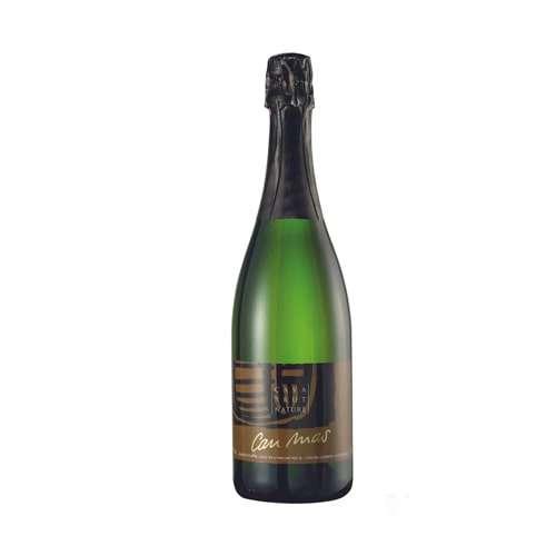 Can Mas Cava Brut Nature 0.75L - Spanish noble sparkling wine