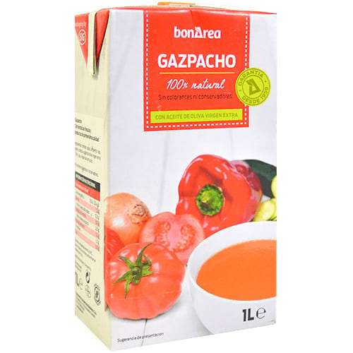 Gazpacho refrigerado 1L - Cooled Gazpacho