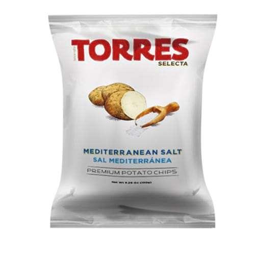 Patatas Torres Sal Mediterránea 150g - Potato chips sea salted