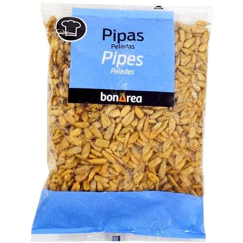 Pipas peladas 100g - pealed sunflower seeds