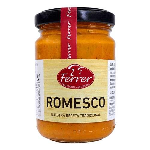 Salsa Romesco 130g - Tomaten-Paprika Salsa mit Knoblauch