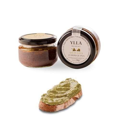Olivada verde 100g - natürliche Olivenpastete mit aromatischen Kräutern