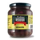 Aceitunas Aragon 920 g - black olives with stone