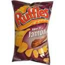 Patatas Fritas Ruffles Jamon Serrano 160g - Potatoe chips Ruffles with taste of Serrano