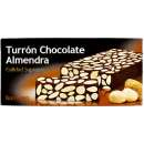 Turrón de Chocolate y Almendras - Almond pastry with Chocolate