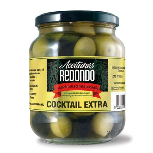 Aceitunas Cocktail Extra 920 g - Olives Cocktail Mix