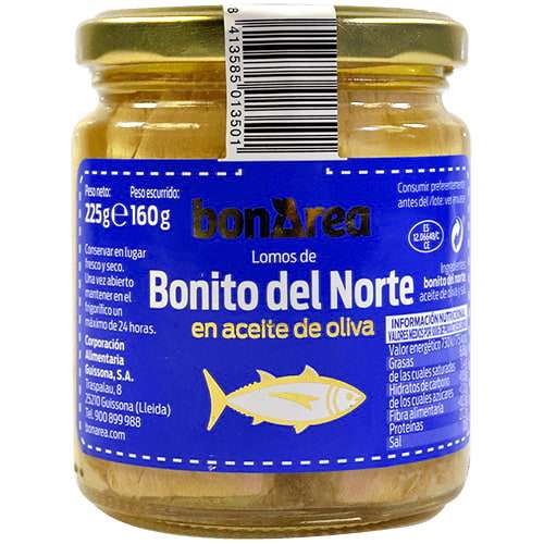 Bonito del Norte 225g - white Tuna in olive oil